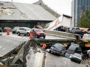 Collapse of the I-35W bridge in Minneapolis, Minnesota