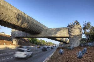 "The ""basket bridge"" of the Los Angeles Metro system"