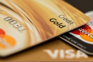 Credit cards also have interest charges